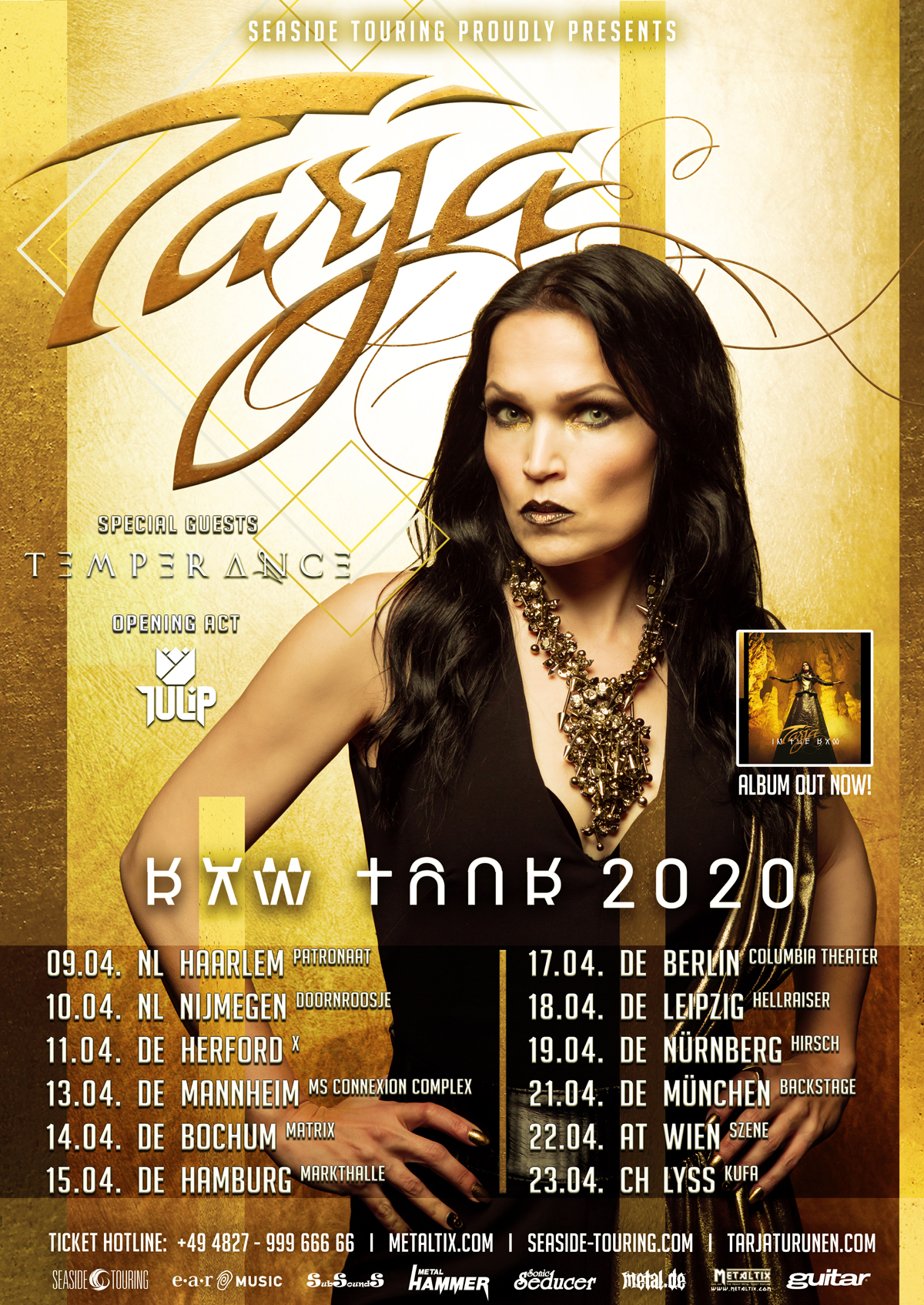 Tarja Raw Tour 2020