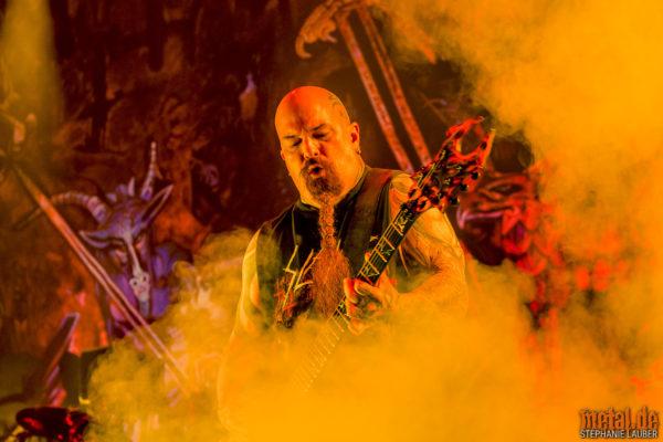 Konzertfoto von Slayer auf Final Tour in Germany 2019 in Stuttgart
