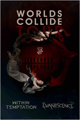 Worlds Collide Tourplakat