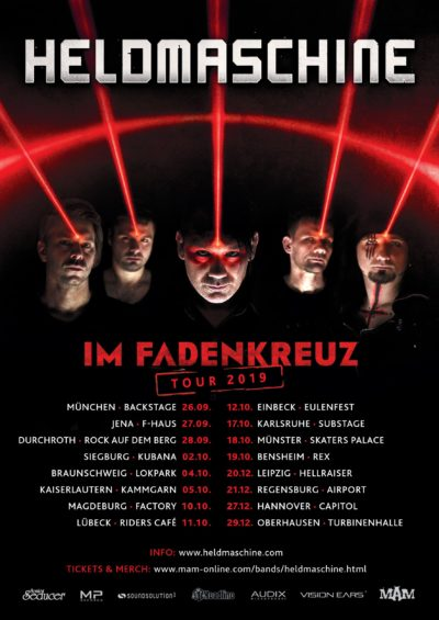 Heldmaschine Tour 2019