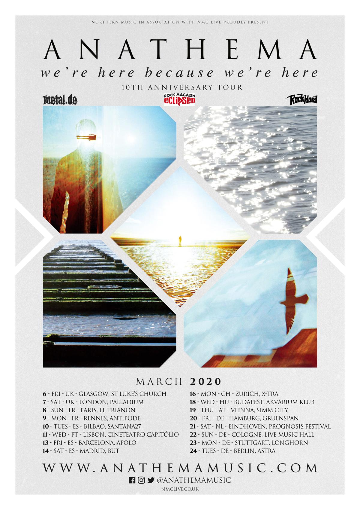 Anathema - WHBWH Anniversay Tour