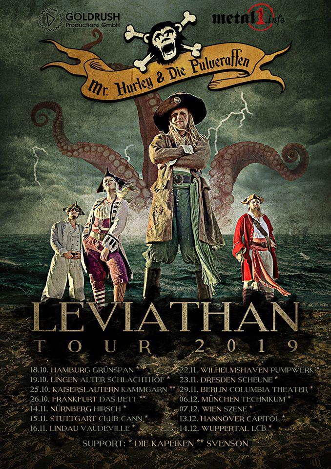 Mr. Hurley & Die Pulveraffen - Leviathan Tour 2019