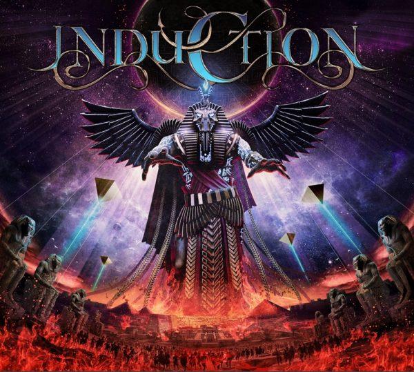 Cover-Artwork des selbstbetitelten Debütalbums von INDUCTION
