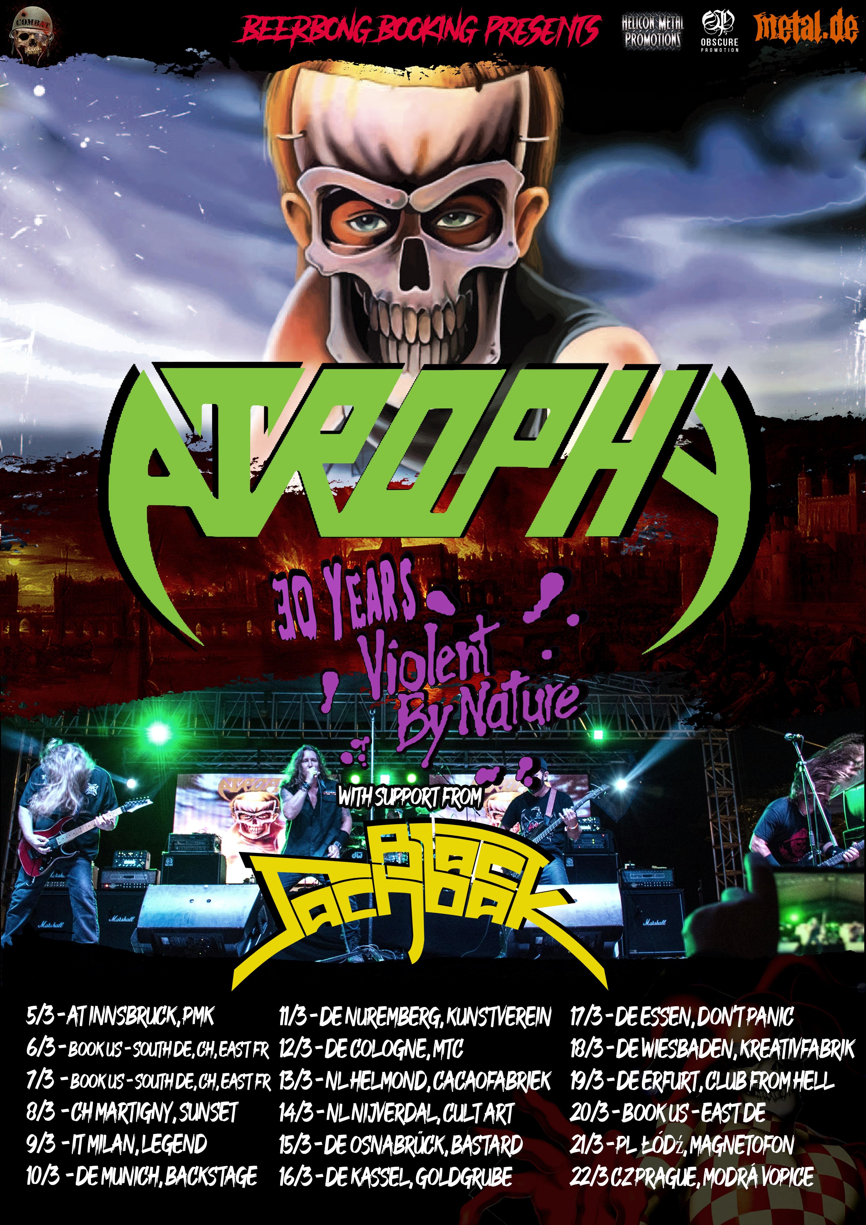 Atrophy/Black Sachbak Tour 2010