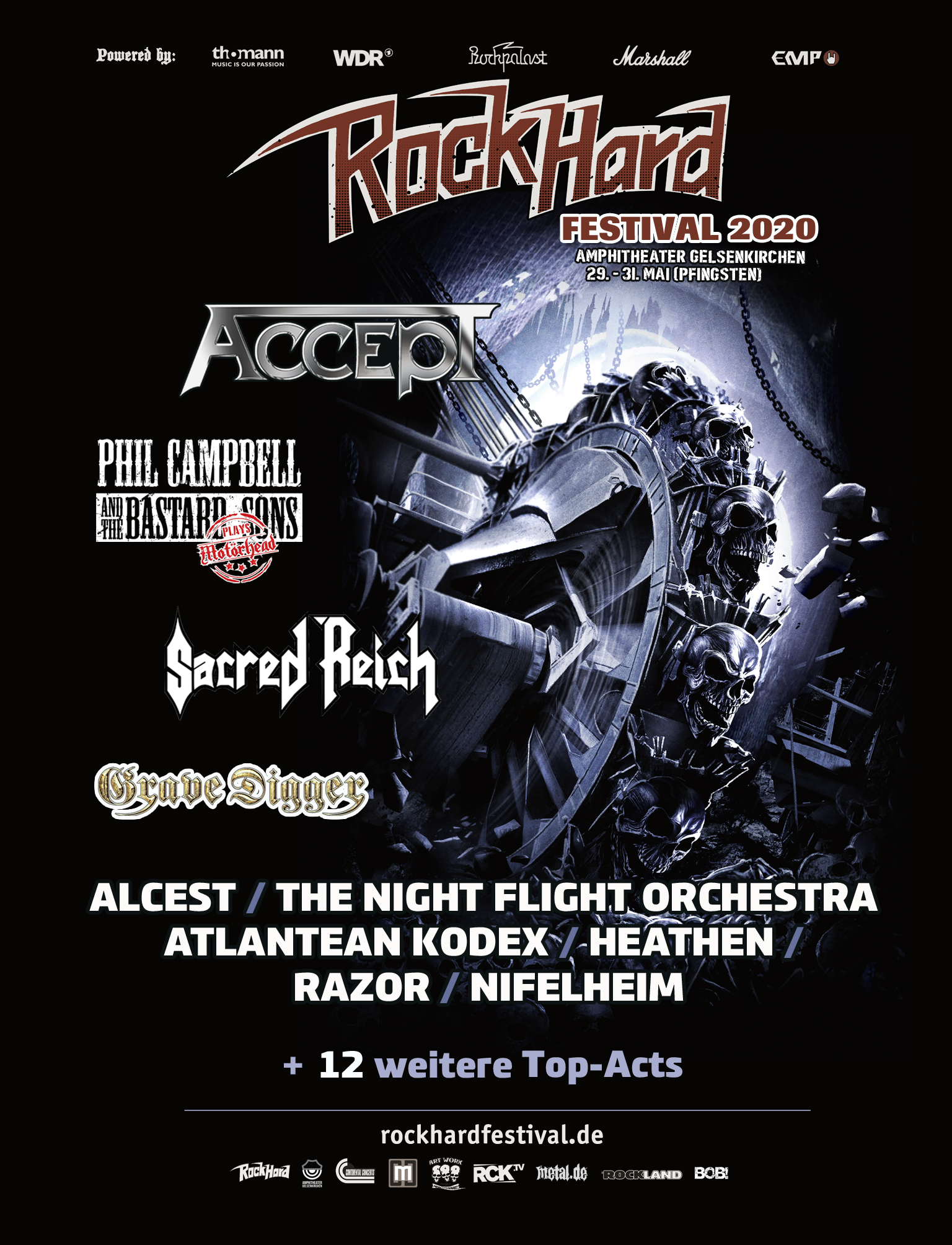 Rock Hard Festival 2020 Stand Okt19