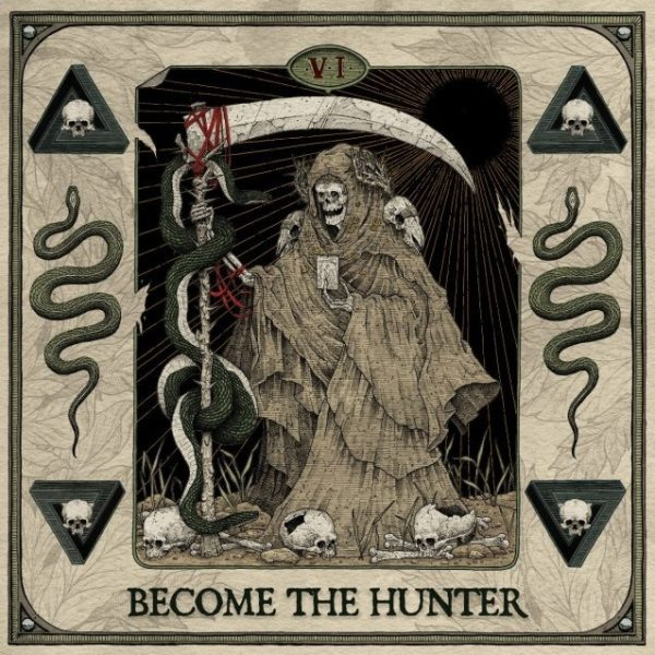 "Artwork Cover ""Become A Hunter"" Suicide Silence"