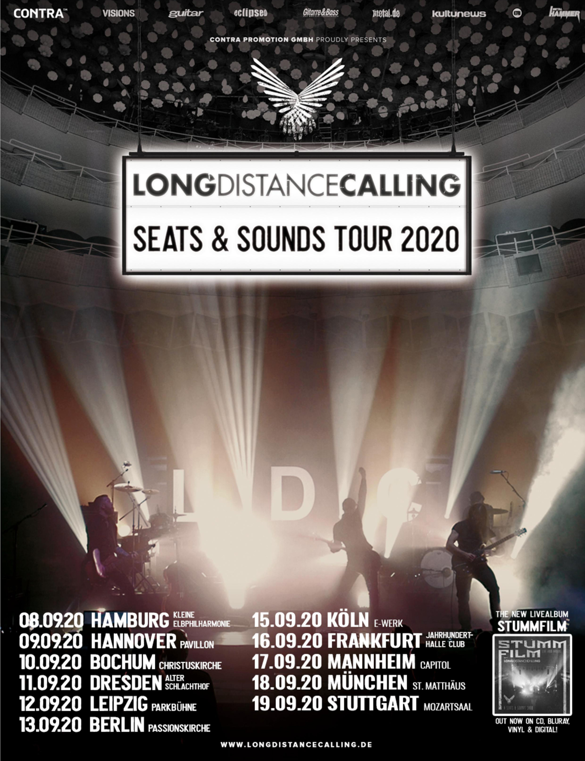 Long Distance Calling - Seats & Sounds Tour 2020