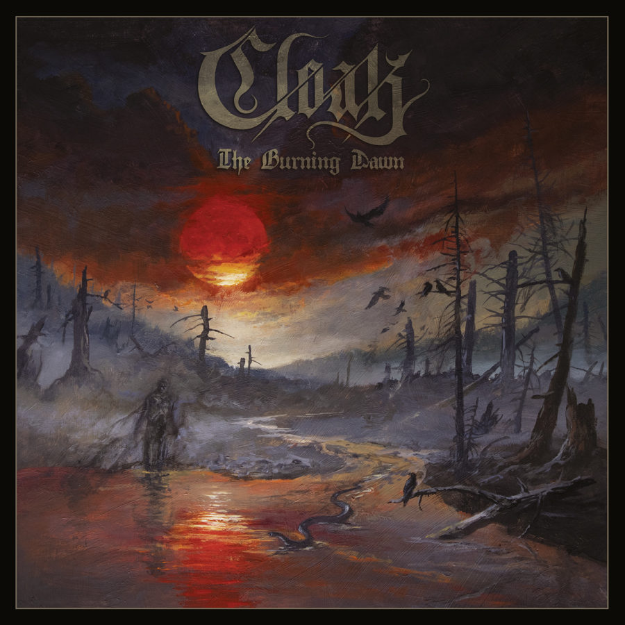 Cloak - The Burning Dawn - Cover