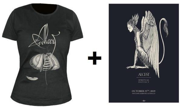 Bild Alcest-Gewinn mit Frauenshirt