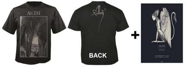 Bild Alcest-Gewinn mit Männershirt