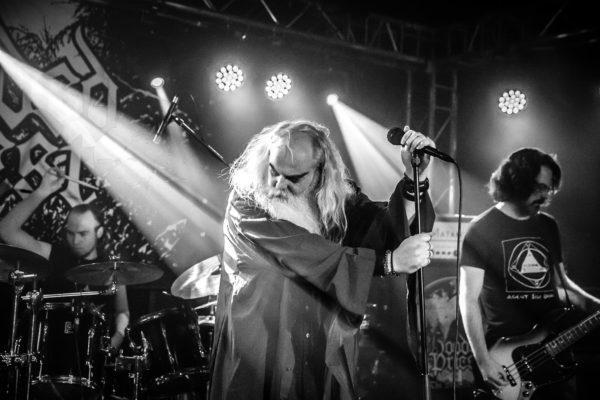 Konzertfoto von Hooded Priest auf dem Stygian Pilgrims Festival 2019