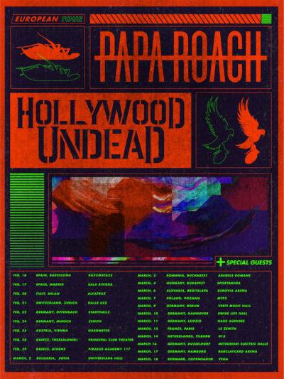 Papa Roach - Tour 2020