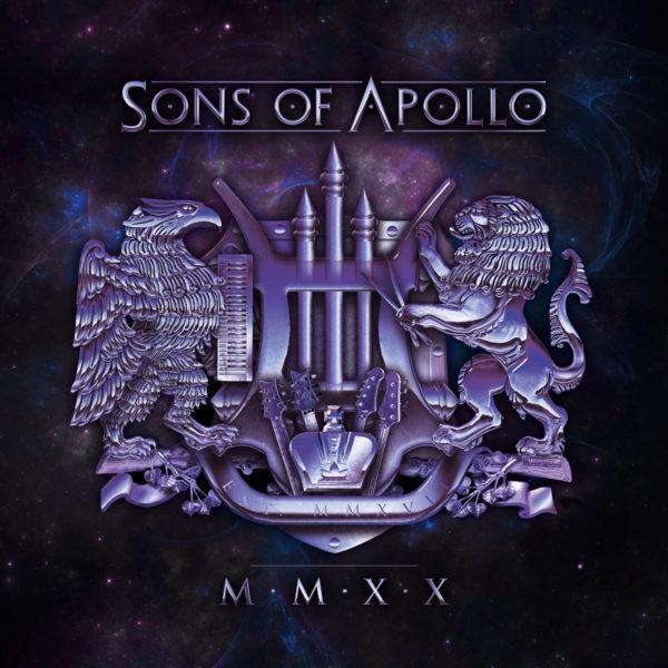 """Cover-Artwork zu """"MMXX"""" von SONS OF APOLLO"""