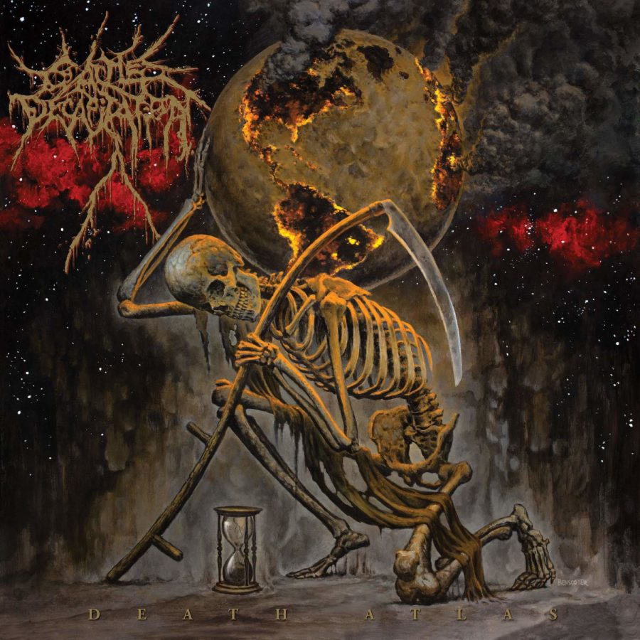 Cover Artwork Cattle Decapitation Death Atlas Album 2019