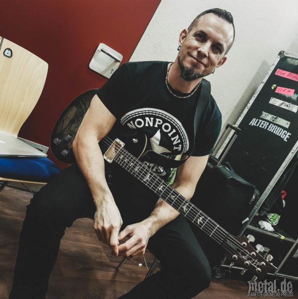 Alter Bridge-Mark Tremonti backstage