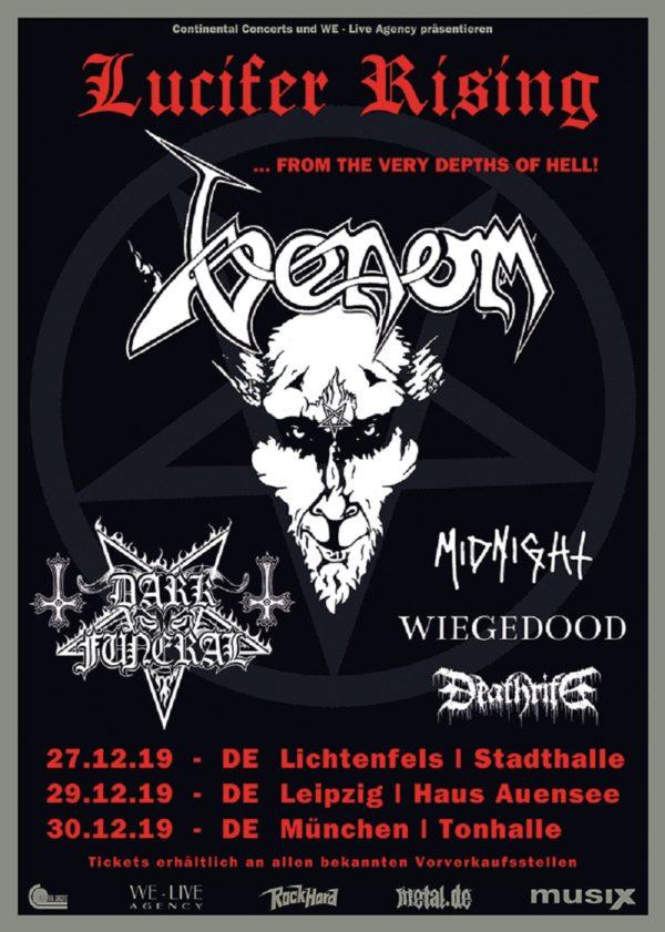 Bild Lucifer Rising Festival Flyer