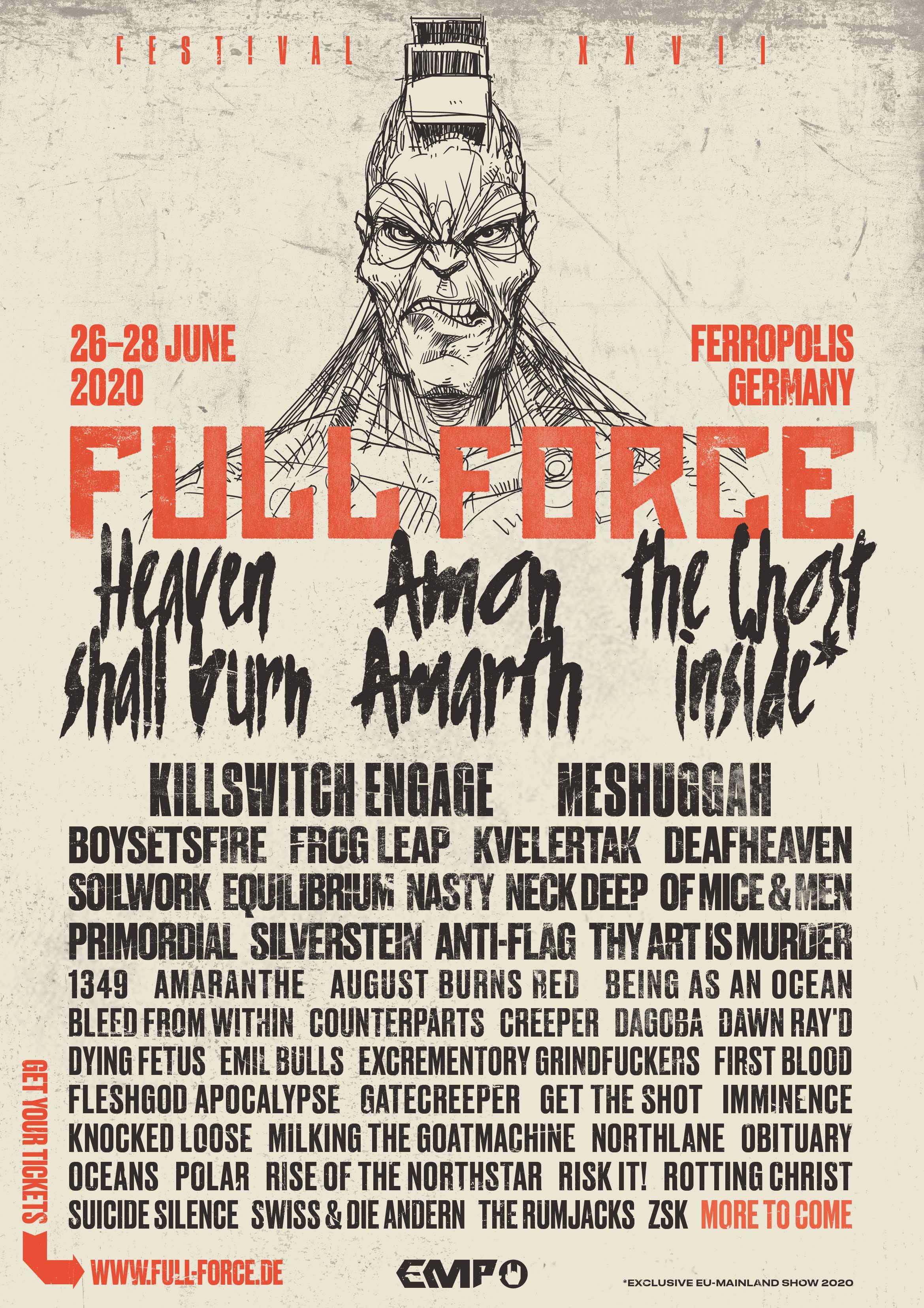 Full Force 2020 Flyer 16.01.2020