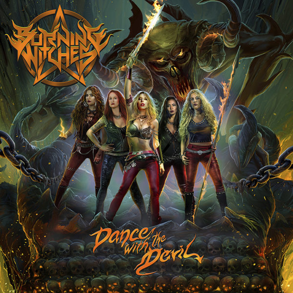 Artwork - Burning Witches - Dance With The Devil