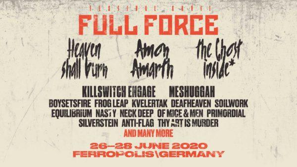 Full Force 2020 Bandannouncement 16.01.2020