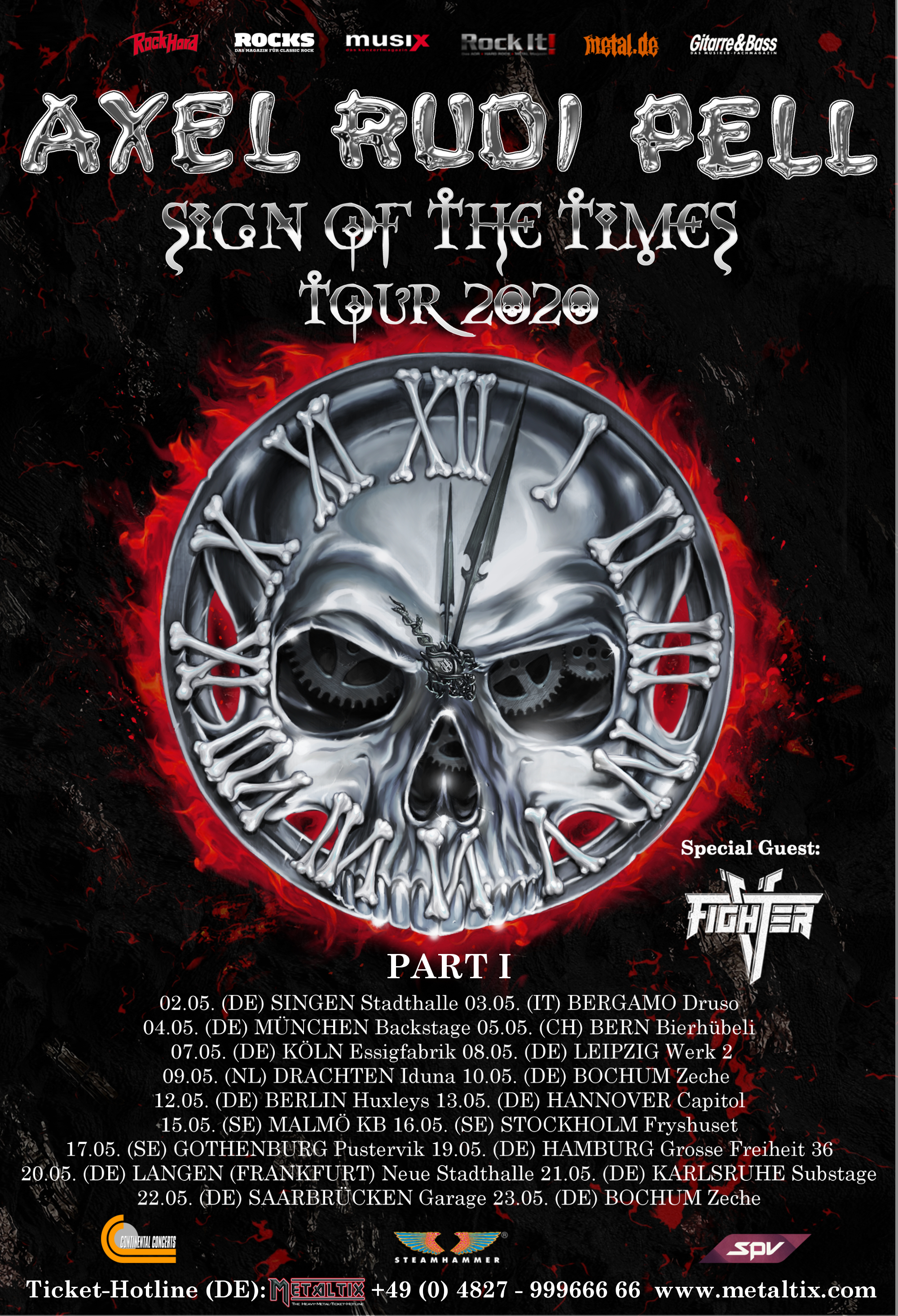 Axel Rudi Pell - Sign Of The Times Tour 2020