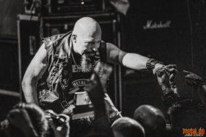 Konzertfoto von Exciter auf dem Hammer and Iron 2020
