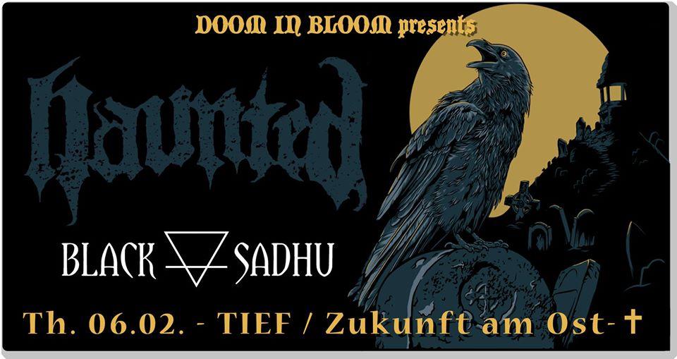 Konzertplakat von Haunted am 6.2.2020 in Berlin