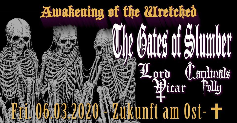 Konzertplakat Awakening Of The Wretched