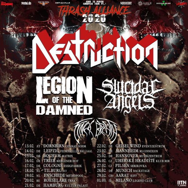 Thrash Alliance Tour 2020