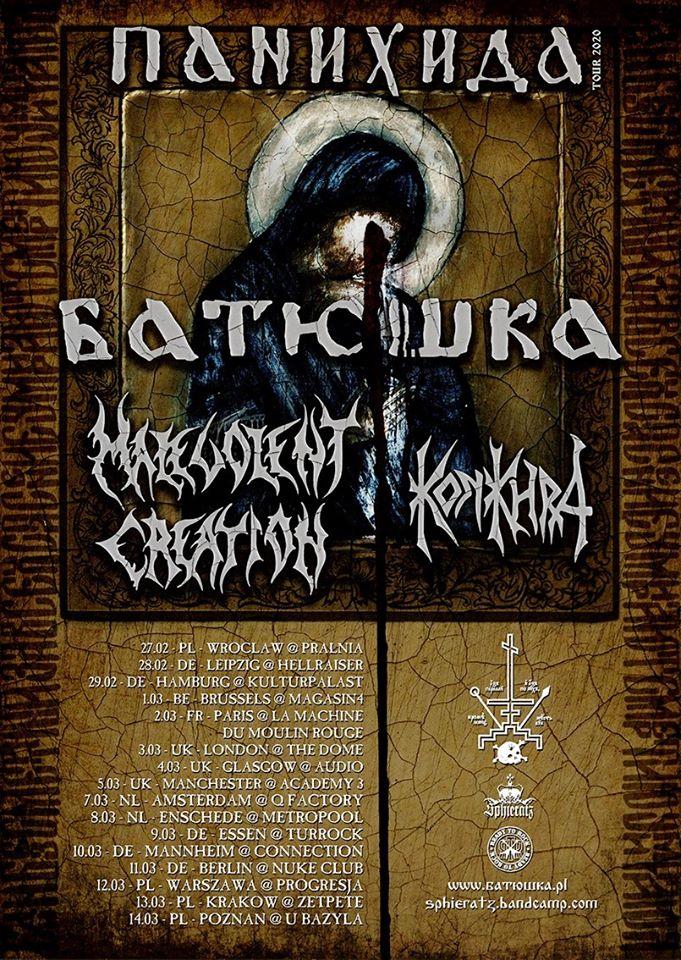 batushka by Krzysztof Tourplakat