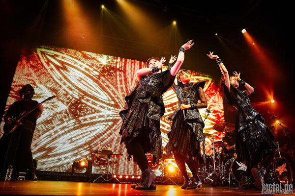 Konzertfoto von Babymetal - Metal Galaxy World Tour 2020