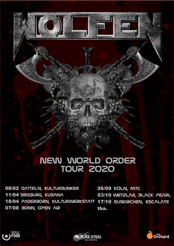 Wolfen - New World Order Tour 2020