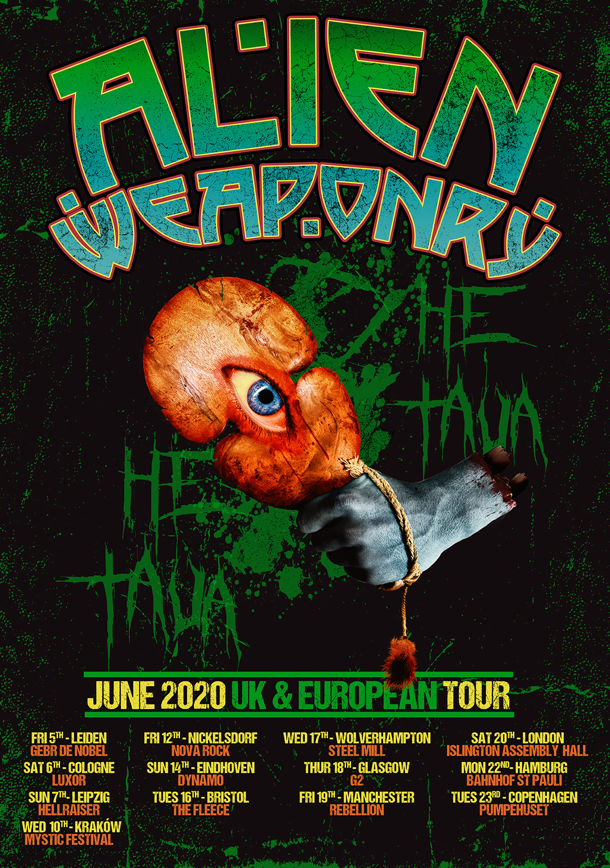 AlienWeaponry2020Tour