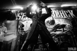 Konzertfoto von Serious Black - World Dominion Tour 2020 in Berlin