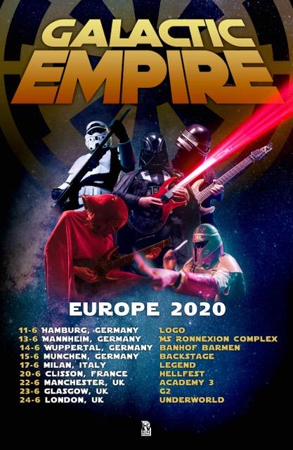 Galactic Empire Europe Tour 2020