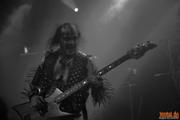Konzertfoto von Nifelheim auf dem Hell Over Hammaburg 2020