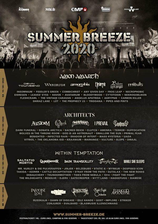 Summer-Breeze-2020-Tageseinteilung