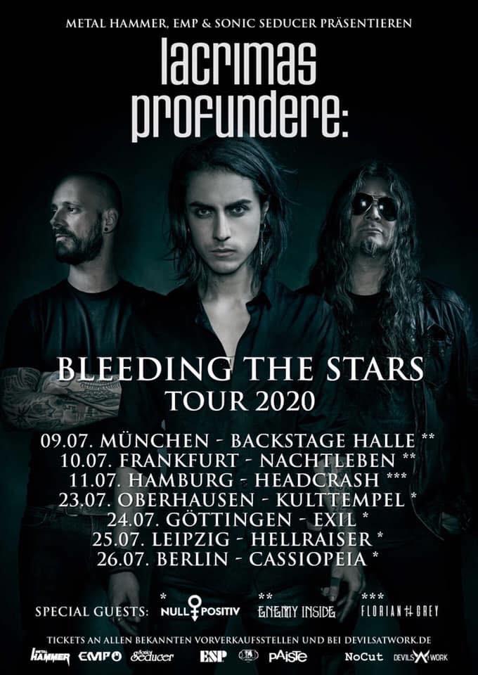 Lacrimas Profundere - Tourplakat 2020