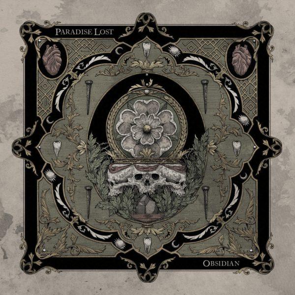"Cover Artwork von PARADISE LOST ""Obsidian"""