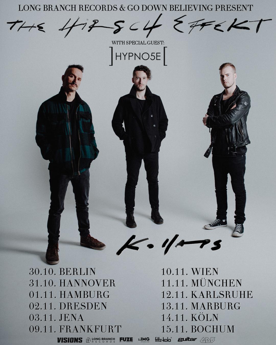 The Hirsch Effekt Kollaps Tour 2020