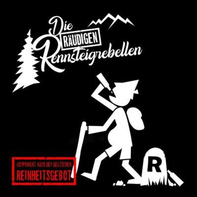 Bonus-CD Cover Eisregen - Die Räudigen Rennsteigrebellen
