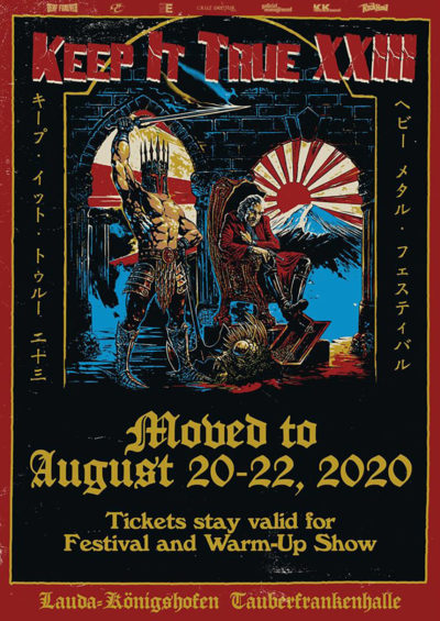 Keep It True - Moved to August 2020