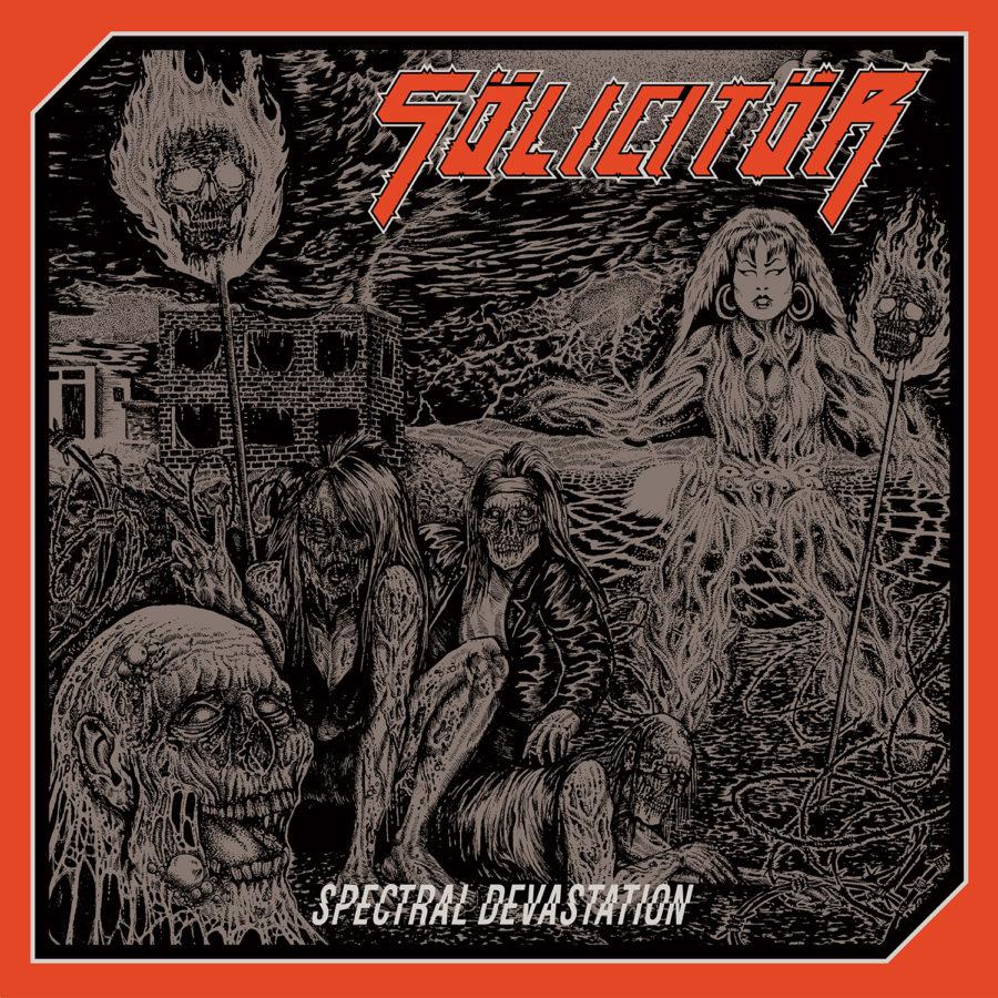 Cover-Artwork - Sölicitör - Spectral Devastation