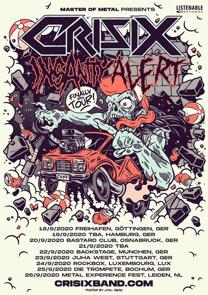 Crisix Finally On Tour 2020 Flyer