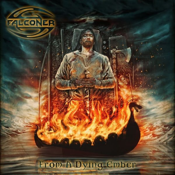 "Cover zum Album ""From A Dying Ember"" von Falconer"