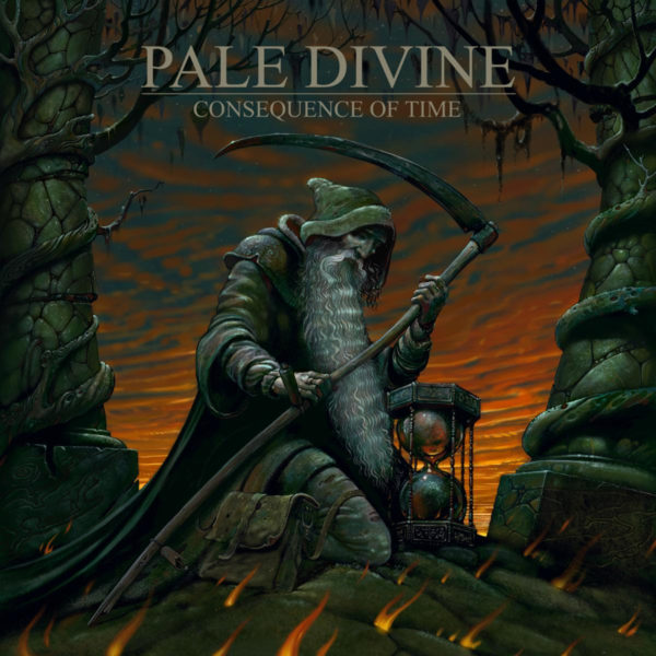 """Cover Artwork von PALE DIVINE """"Consequence Of Time"""""""