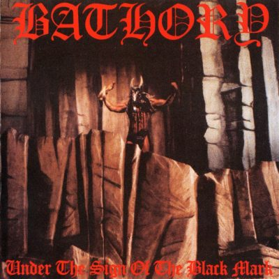 Bathory - Under the sign of the black mark (cover)