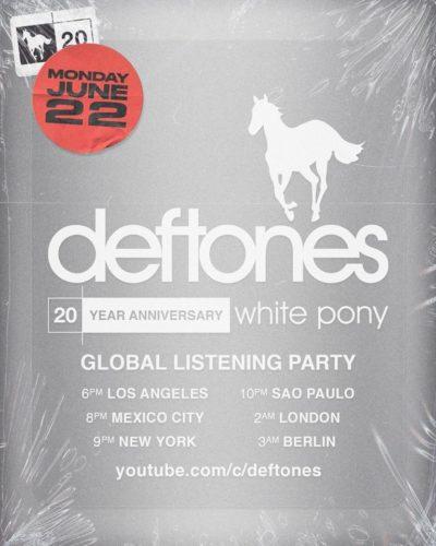 """Deftones - Listening Party zu 20th Anniversary von """"White Pony"""""""