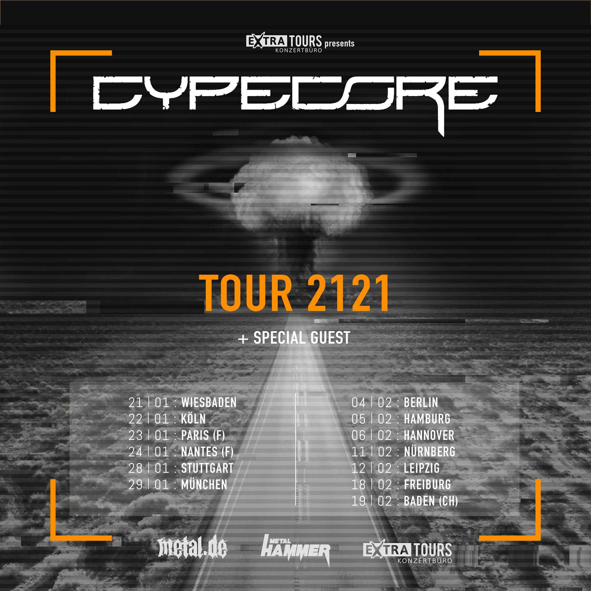 Bild CYPECORE - Tour 2121 Poster