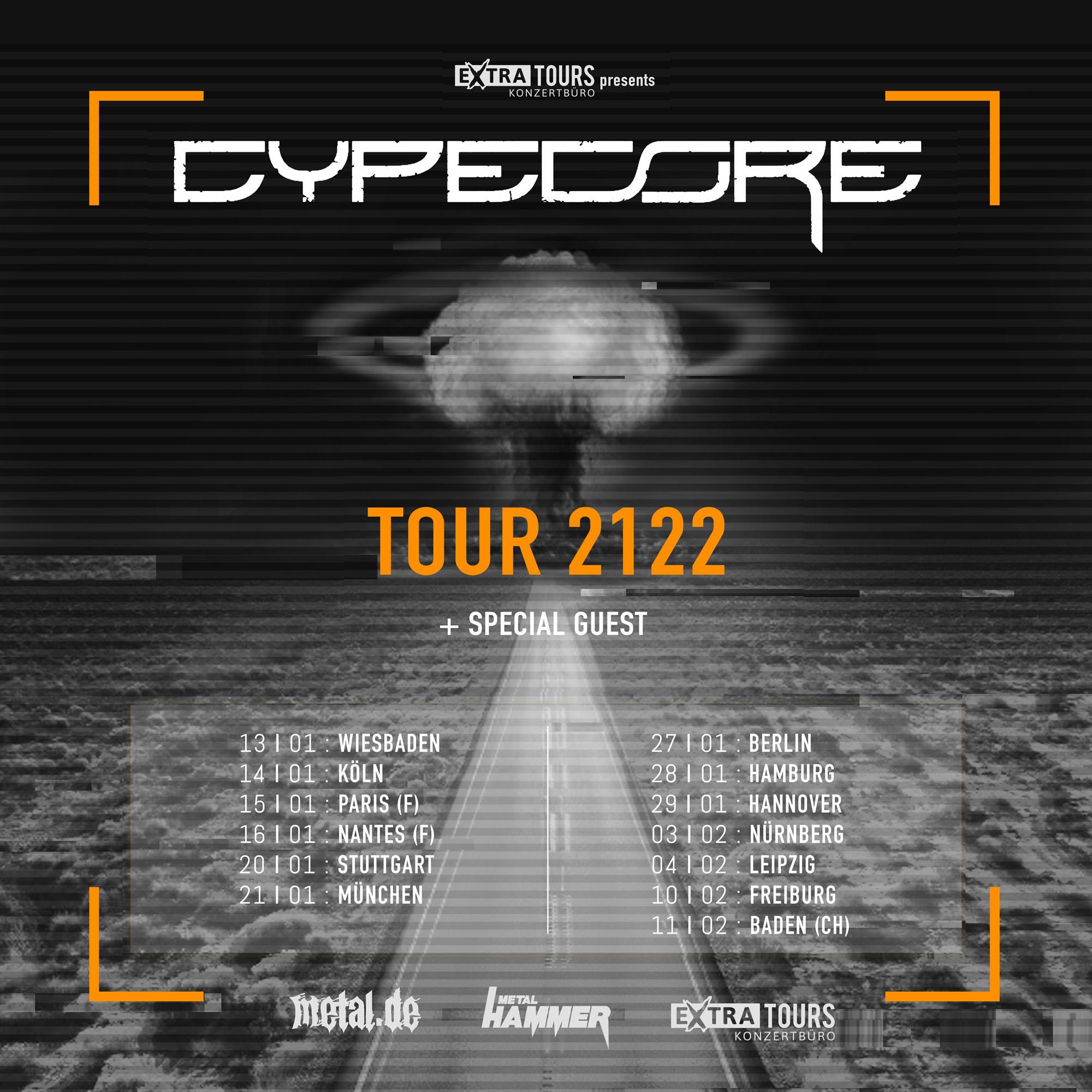 Bild Cypecore - Tour 2122 Poster
