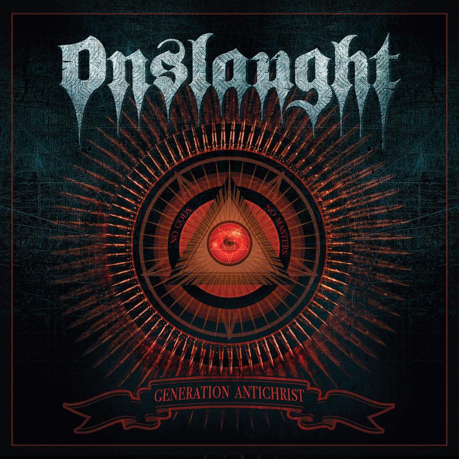 Onslaught - Generation Antichrist (Artwork)